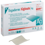 3M Tegaderm Alginate Ag Dressing,4″ x 5″ (10.16cm x 12.7cm),10/Pack, 4Pk/Case,90303