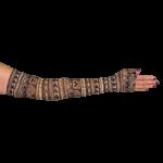 LympheDivas Dennis Mcnett Compression Arm Sleeve And Gauntlet,Each,DENNIS MCNETT
