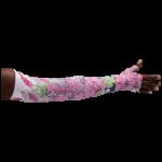 LympheDivas Bloomin Betty Dark Compression Arm Sleeve And Gauntlet,Each,BLOOMIN BETTY DARK