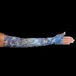 LympheDivas Irises Compression Arm Sleeve And Gauntlet,Each,IRISES