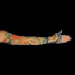 LympheDivas Koi Compression Arm Sleeve And Gauntlet,Each,KOI