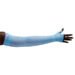 LympheDivas Firefly Blue Compression Arm Sleeve And Gauntlet,Each,FIREFLY BLUE