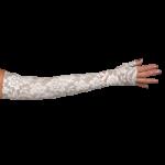 LympheDivas Darling Dark Compression Arm Sleeve And Gauntlet,Each,DARLING DARK