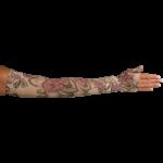 LympheDivas Begonia Compression Arm Sleeve And Gauntlet,Each,BEGONIA