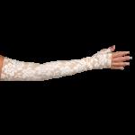 LympheDivas Darling Tan Compression Arm Sleeve And Gauntlet,Each,DARLING TAN