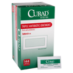 Medline Curad Triple Ointment,0.9gm, Foil Packet,1728/case,CUR001209