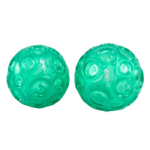 OPTP Franklin Textured Ball Set,Emerald Green,2/Pack,LE9001