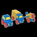 Melissa & Doug First Vehicles Set,3.5″ x 14.5″ x 5.5″,Each,3000