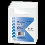 Dynarex Surgical Gauze Sponge,3″ x 3″, 12 ply,50/Pack,3333