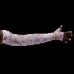 LympheDivas Romantic Rose Compression Arm Sleeve And Gauntlet,Each,ROMANTIC ROSE