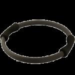Aeromat Pilates Ring,14″ Diameter, Black,Each,37001