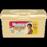 Huggies Soft Skin Wipes,Pop-Up Tub,64/Pack,18976
