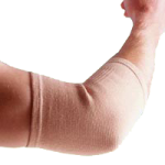 Thermoskin Elastic Elbow Support,Medium, Elbow Circumference: 9″ to 10-1/4″ (22.9cm to 26cm),Each,83617