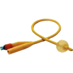 PECO Two-Way Silicone Elastomer Coated Foley Catheter With 5cc Balloon,22FR,Each,PF6522