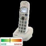Plantronics Clarity D704HS DECT 6.0 Expansion Amplified Phone Handset,Expandable Handset,Each,D704HS
