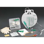 Bard Lubricath 200ml Center-Entry Meter Foley Tray,With 16FR Catheter,10/Case,892816