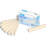 Urocare Urofoam Adhesive Foam Strips,Single Sided,50/Pack,5100