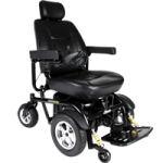 Drive Trident HD Heavy-Duty Power Chair,With 24″ Captain Seat,Each,2850HD-24