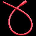 6220153927Rusch-Robinson-And-Nelaton-All-Purpose-Latex-Red-Rubber-Intermittent-Catheter