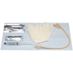 Bard Bardia Complete Foley Insertion Kit with Catheter,With 16FR Catheter with 30cc Balloon,10/Case,800316