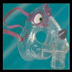 Cardinal Health Dragon Mask Aerosol Masks,Pediatric Mask,50/Case,1266