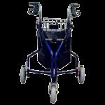 Karman Healthcare Tri Walker Three-Wheel Foldable Rollator,Metallic Burgundy,Each,R-3600-BD