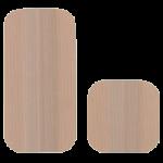 Uni-Patch Tan Tricot Reusable Stimulating Electrodes,2″ x 4″ (5.1cm x 10.2cm), Rectangle,4/Pack,EC89260