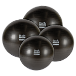 Body Sport Eco Series Exercise Balls,65 cm,Each,BDS6PF65AB