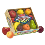 Melissa & Doug Play Time Produce Fruit,Produce Fruit,Each,4082