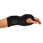 Mueller Night Support Wrist Brace,Fits Most Wrist Circumference: 5.75″ to 9″ (14.6cm to 2cm),Each,6772-1