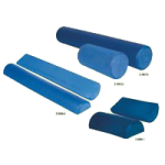 Aeromat Foam Roller,6″ Diameter x 36″, Blue,Each,33831