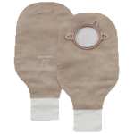 Hollister New Image Two-Piece Standard Wear Beige Drainable Pouch With Clamp Closure and Filter,Pouch Size: 1-3/4″ (44mm), Green,10/Pack,18142