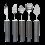 Maddak Comfort Grip Cutlery,Dinner Fork,Each,H746400101