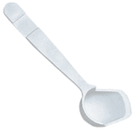 Maddak Angled Spoon,With Standard Handle,3/Pack,F746460000