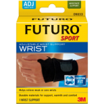 Futuro Sport Adjustable Wrist Support,Black,Each,09033EN