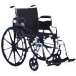 Invacare Tracer SX5 16 Inches Frame Vein Wheelchair,16″ x 16″,Each,TRSX56FBP