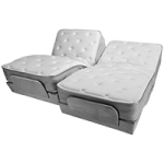 Flex-A-Bed Premier Dual King Adjustable Bed,Each,Premier Dual King