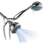 Buckingham HotelSpa Multi Shower System,19 Setting Showerhead with Hand Held,Each,IL-5937